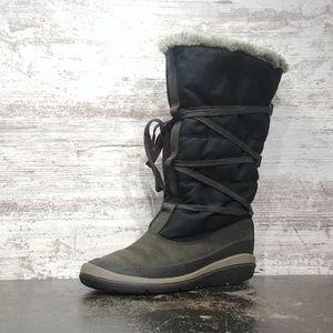 Womens Timberland Tall Fur Lined Winter Boots Sz 7